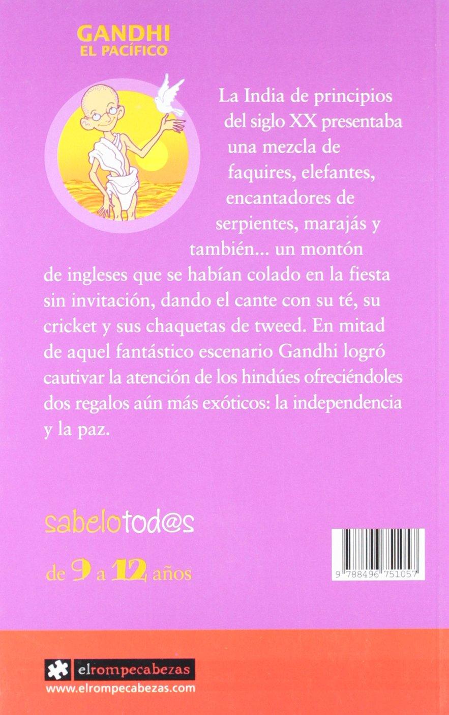 STO21. GANDHI, EL PACIFICO: Gorka Calzada: 9788496751057 ...
