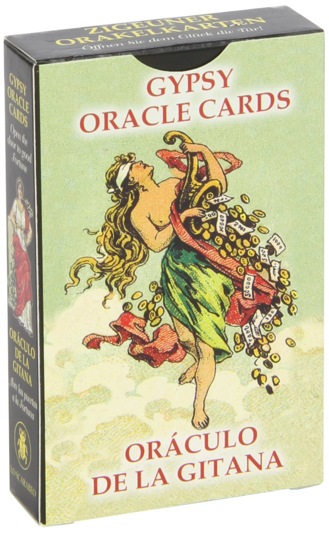 Gypsy Oracle Cards (English and Spanish Edition): Lo Scarabeo