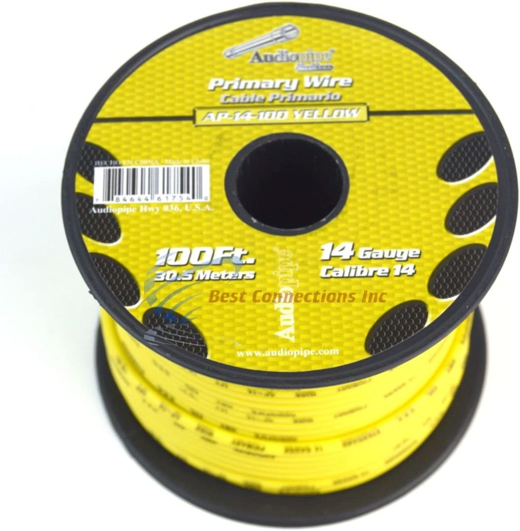 14 Gauge 11 Rolls 100 Feet Primary Power Ground Wire All Purpose Remote Cable