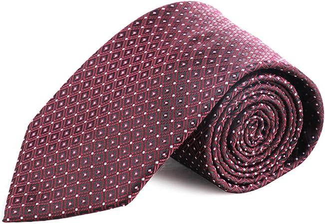 Corbata para hombre de seda de mora de la marca LKKLILY, 10 x 145 cm Silk -29: Amazon.es: Hogar