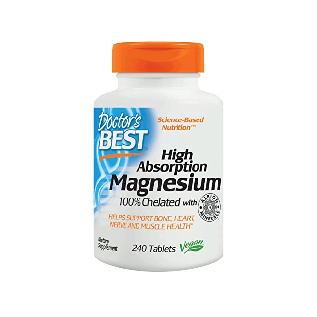 Doctor's Best High Absorption Magnesium Glycin...