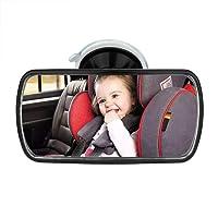 SunTop Miroir de Voiture pour Bébé Rétroviseur de Surveillance Bébé Vue Arrière Miroir, Miroir Auto Bébé Rétroviseur de Surveillance Bébé