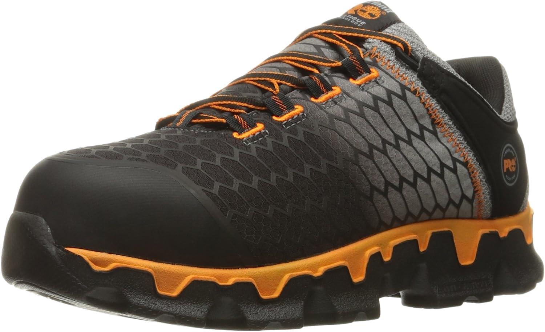 Timberland PRO Men's Powertrain Sport Alloy Toe Sd+ Ripstop Nylon Industrial Boot
