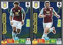 Jed Steer Aston Villa no 20 Panini Premier League adrenalyn XL 2019//20