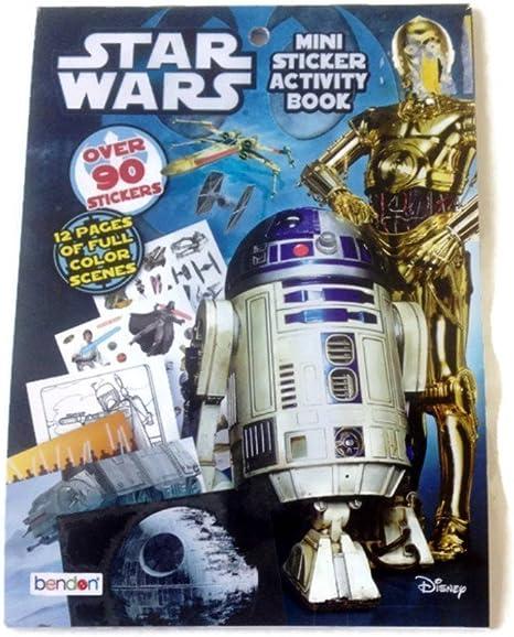 Star Wars Mini Sticker Activity Book