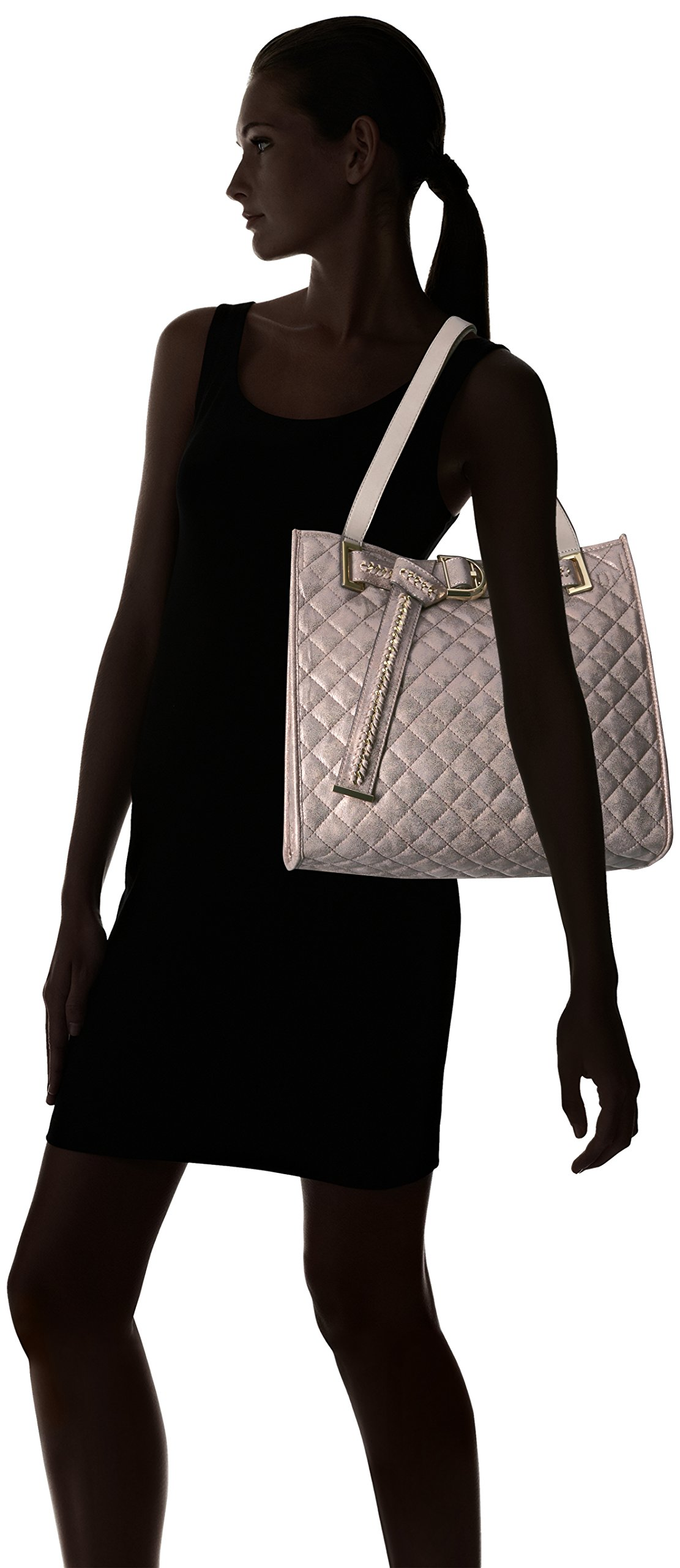 Calvin Klein Nola Quilted Distressed Belted Tote by Calvin Klein (Image #7)