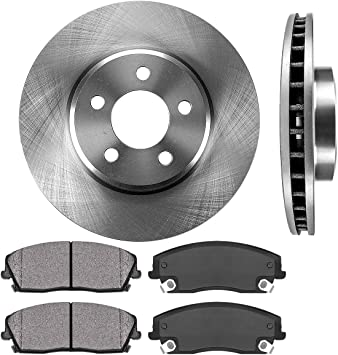 OE Replacement 08 09 Fit Dodge Charger See Desc. Rotors Metallic Pads F+R