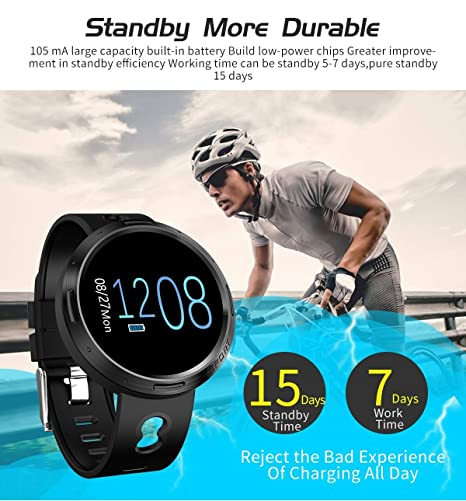 Amazon.com: WO FEI Smart Wristband 2019 Reloj Inteligente ...