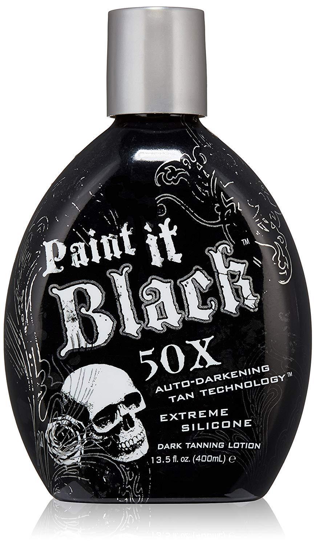 Millennium Tanning Paint It Black 50X,13.5 Oz by Millennium Tanning Products