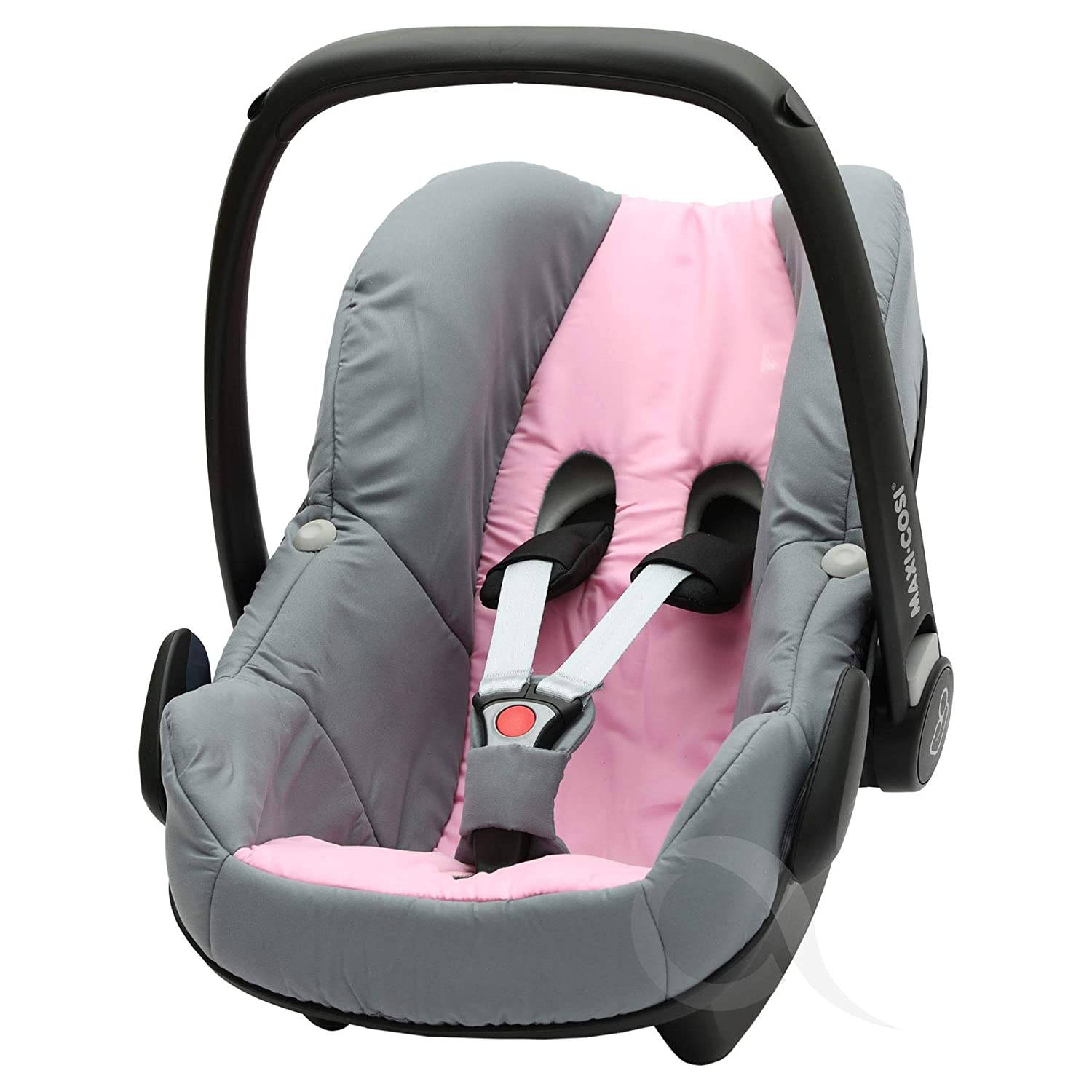 car seat Replacement Seat Cover to fit Maxi COSI Pebble 0 red /& Grey
