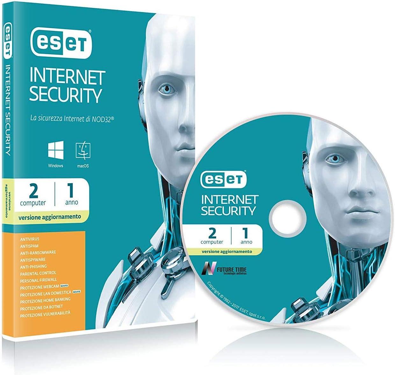 ESET Internet Security 1yr 2u-, Renovación: Amazon.es: Informática