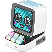Divoom Ditoo Multifunctionele Pixel Art LED draagbare Bluetooth luidspreker, 256 programmeerbaar LED-paneel met…
