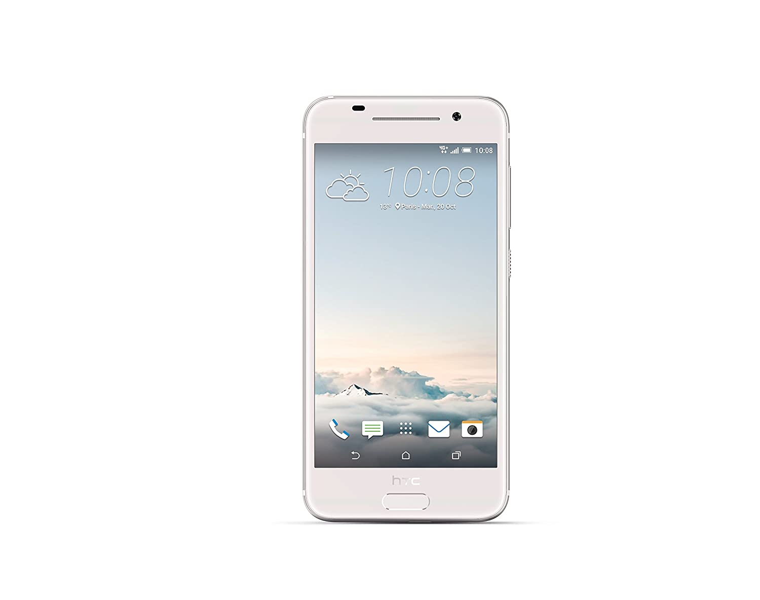 HTC A9 - Smartphone Libre (Qualcomm Snapdragon 617, Octa Core, cámara de 13 MP, Bluetooth 4.1), Color Plateado