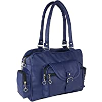 Bizarre Vogue Women's Stylish Handbag (Blue, BV1016)