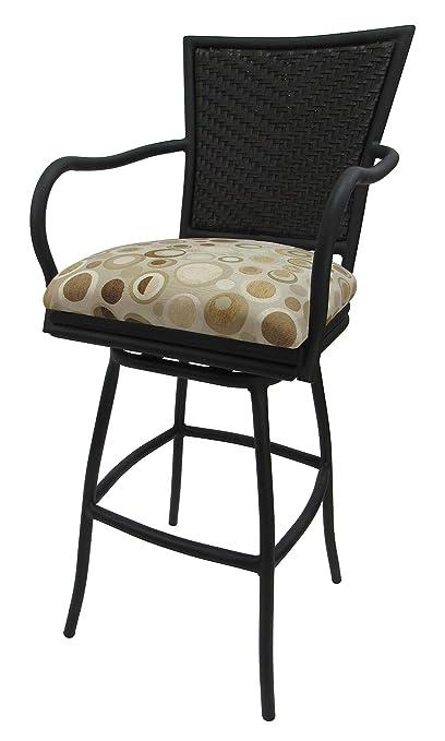Sensational Amazon Com Erin 35Inch Terracotta Billsisvelle Ivory Black Pabps2019 Chair Design Images Pabps2019Com