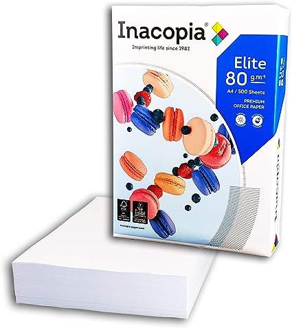 Paquete de folios (500 hojas A4 papel 100% reciclado Extra blanco ...