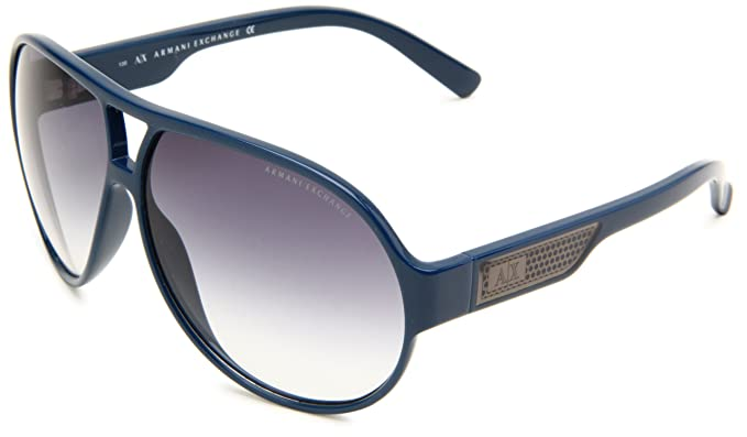 09c12e8155 Armani Exchange AX235 S Aviator Sunglasses