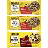 Nestlé Toll House Chocolate Chips, Pack of 3 – Includes Two, 12 oz. Bags of Semi-Sweet Chocolate Chips and One, 10 oz. Bag of