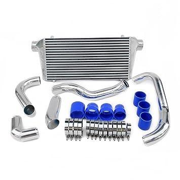Supeedmotor Intercooler Kit para FMIC S13 200SX CA18DET Turbo Core de alto flujo frontal para pantalla plana: Amazon.es: Coche y moto