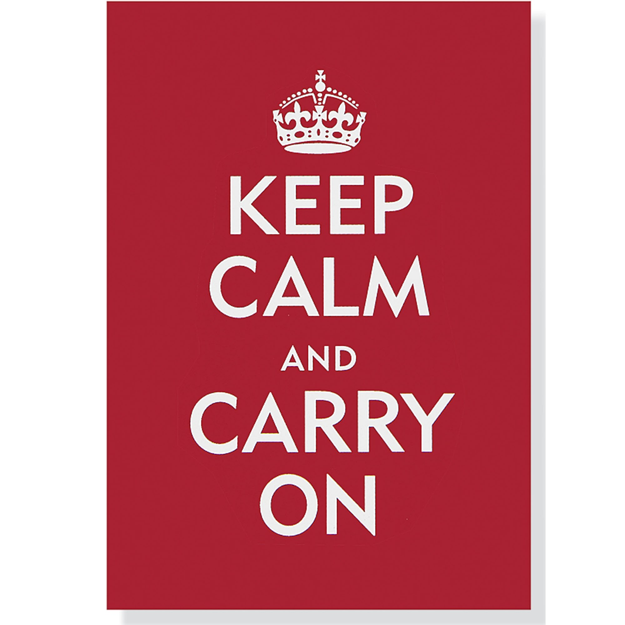 KEEP CALM AND CARRY ON 1939 GLOSSY POSTER PICTURE PHOTO PRINT BRITAIN UK WWII