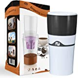 Drip Coffee Makers with Reuasble K Cups Coffee Pods Portable Thermal Drip Instant Single Serve Coffee Brewer for Backpacking,