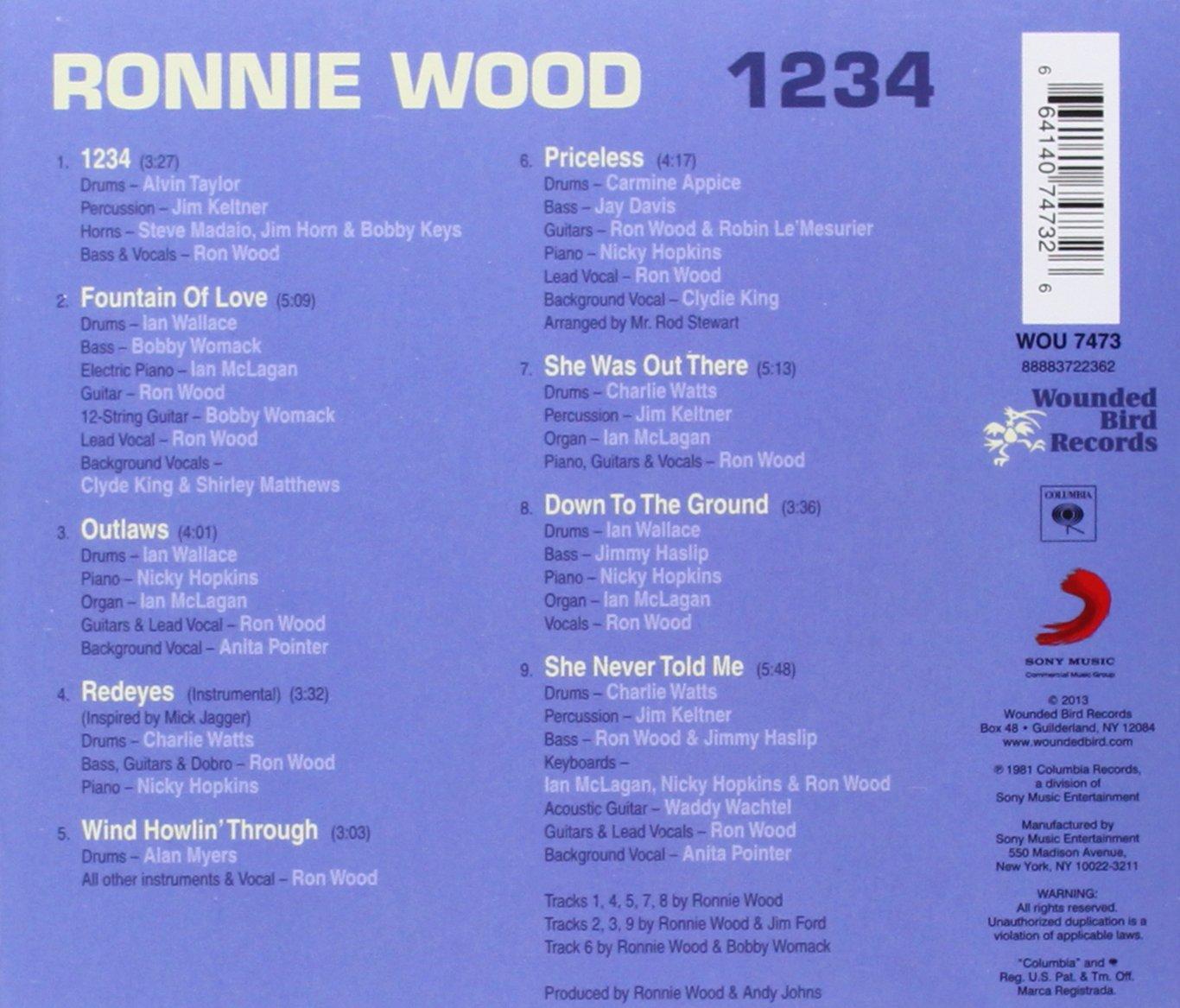 1234: Ron Wood: Amazon.es: Música