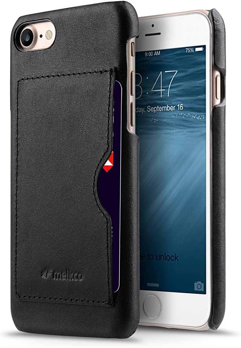 Melkco Premium Leather Card Slot Snap Cover for Apple iPhone 8 / iPhone 7 (4.7