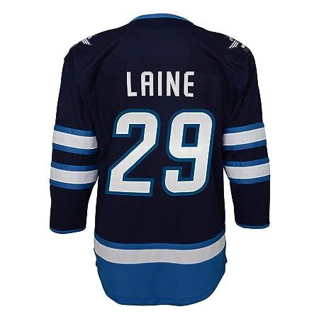 Patrik Laine Winnipeg Jets Leafs NHL Premier Youth Replica Hockey Jersey   Amazon.co.uk  Sports   Outdoors 6e676b9e9