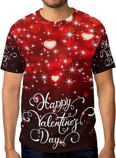 Camiseta Corazones para hombre