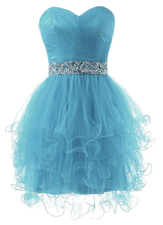 SimpleDressUK Sweetheart Beaded Tulle Ball Evening Prom Dress