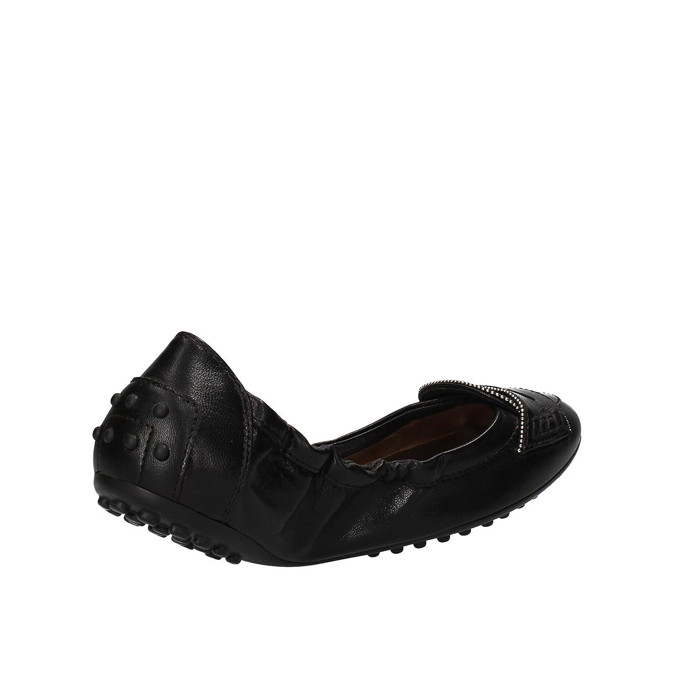 6713bb60f5 TOD'S Women's Ballet Flats, Loafer 2 UK / 35 EU Black Leather AF913:  Amazon.co.uk: Shoes & Bags