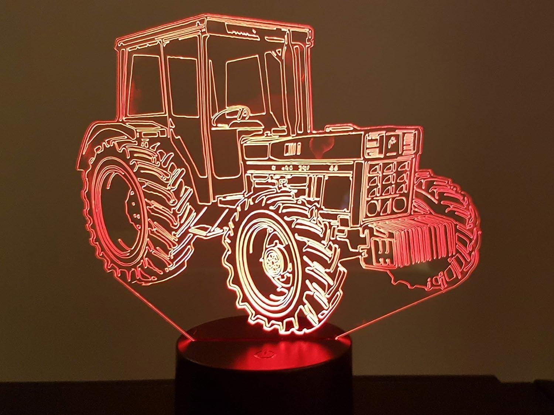 Tracteur IH (international Harvester), lampe 3D à LED