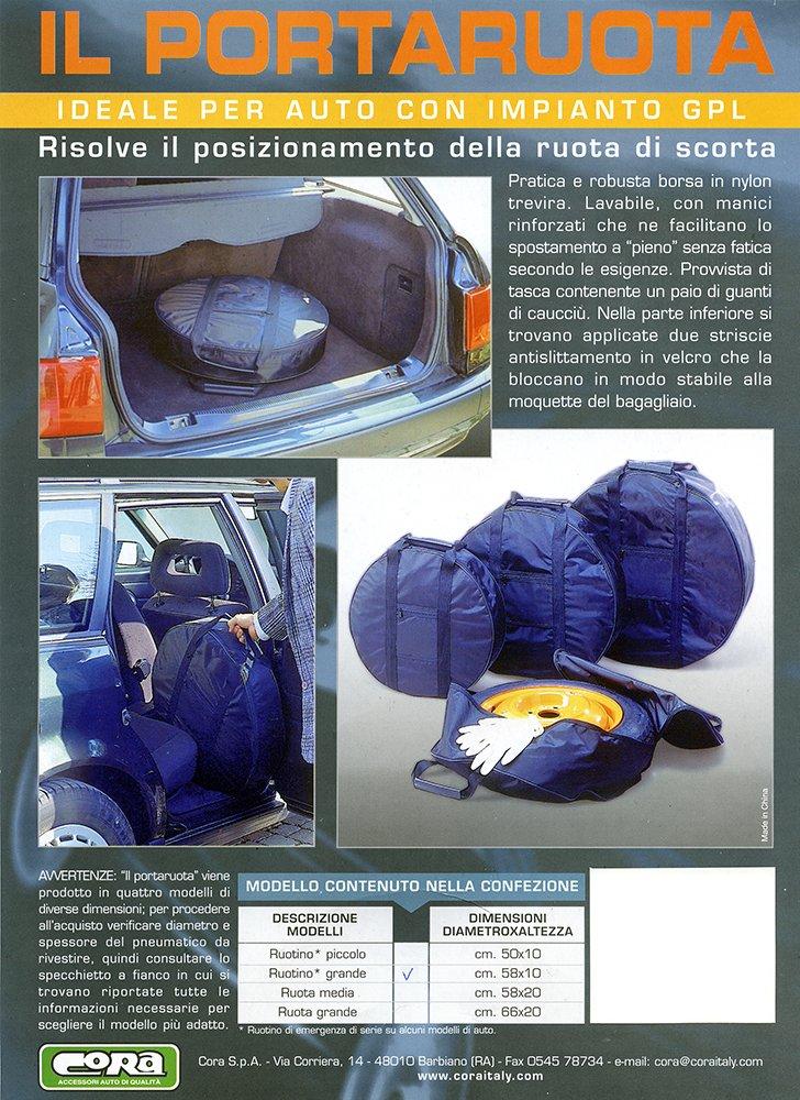 grand format Cora 000158152 Housse de transport pour roue de secours