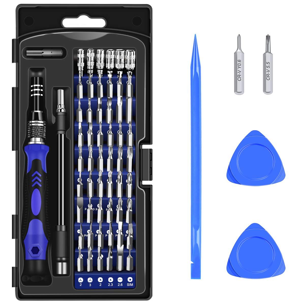PC pour t/él/éphone Portable Tablette Diyife 63 en 1 Tournevis Set avec 56 Bits Set de Tournevis magn/étique Set Set Montre etc Macbook