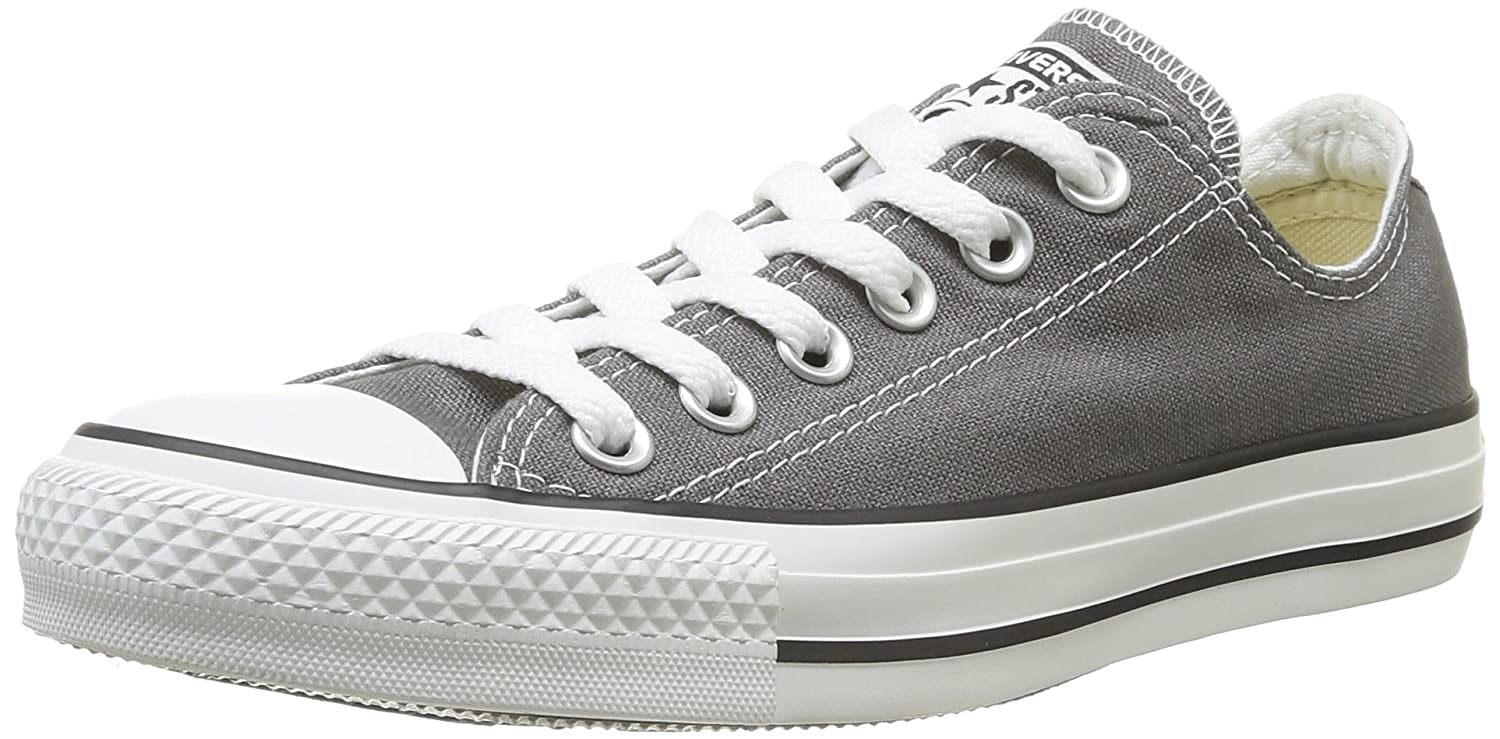 Converse unisexe Mono Ctas Mono Ox Anthracite Cuir Sneakers/Chaussures de sport unisexe taille adulte Anthracite 4ce7327 - automatisms.space