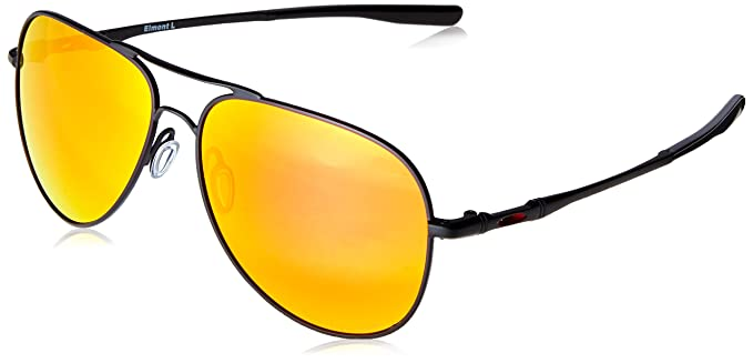 Oakley Elmont Large Sonnenbrille - Schwarz (satin black/prizm ruby) aXtdYPc6fr