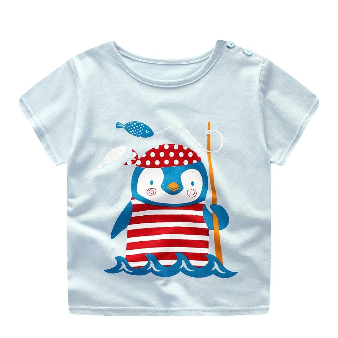 a9eb4a05cc978e Sommer Babykleidung Kinder Baby jungen T-shirt und Hosen Outfits  NeugeborenenSommer Anzug Kinder T-shirt und Hose Bekleidungssets Kleidung  Set (6 Monate-3 ...