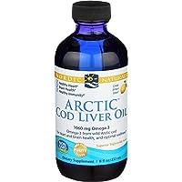 Nordic Naturals - Arctic CLO, Heart and Brain Health, and Optimal Wellness, Lemon, 8 Fl Oz (Pack of 1)