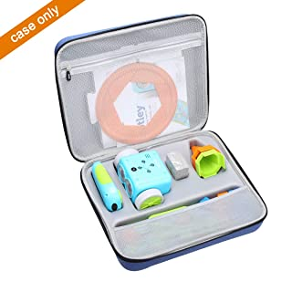 Aproca Hard Storage Carrying Travel Case for Learning Resources Botley The Coding Robot Activity Set (Blue)