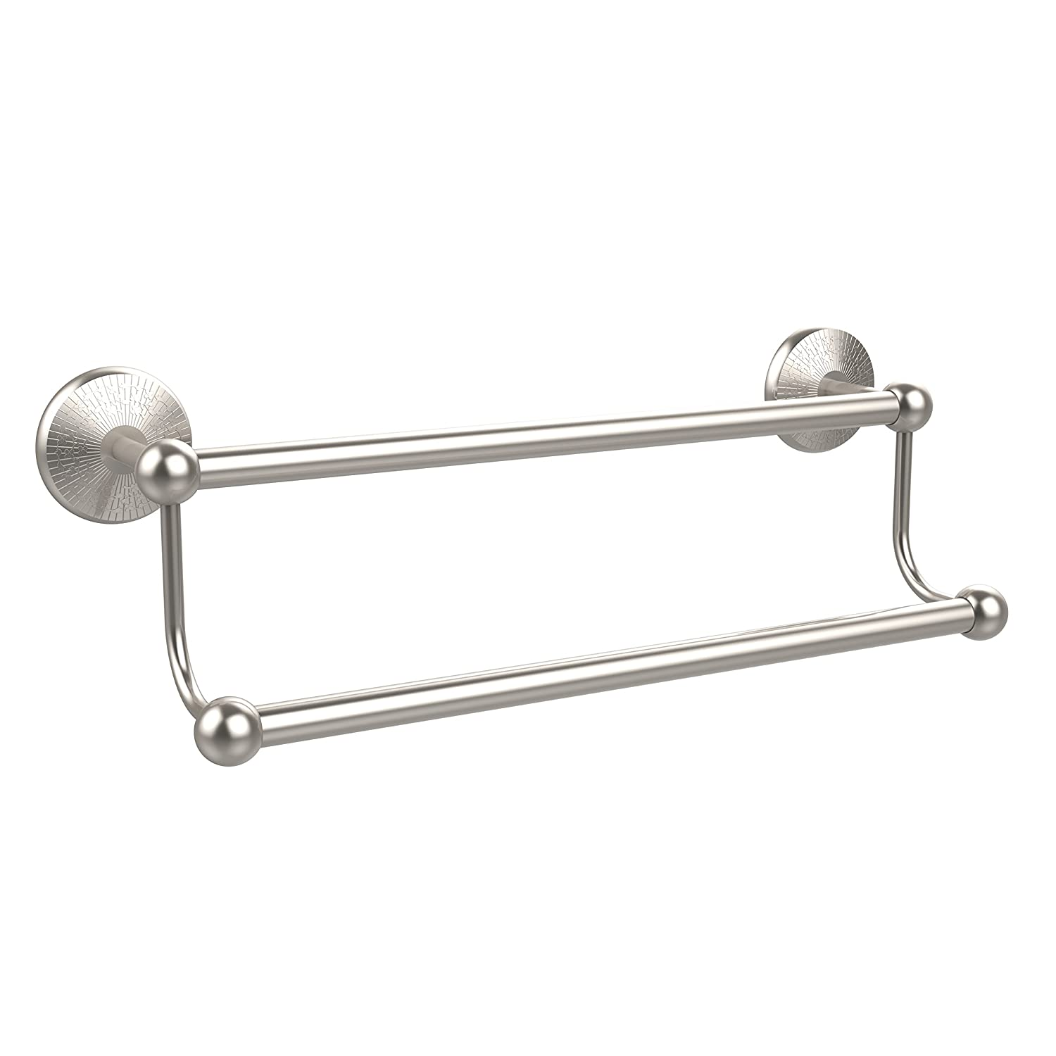 Allied Brass Double Towel Bar Satin Nickel by Allied Brass B002CPGL7W サテンニッケル サテンニッケル