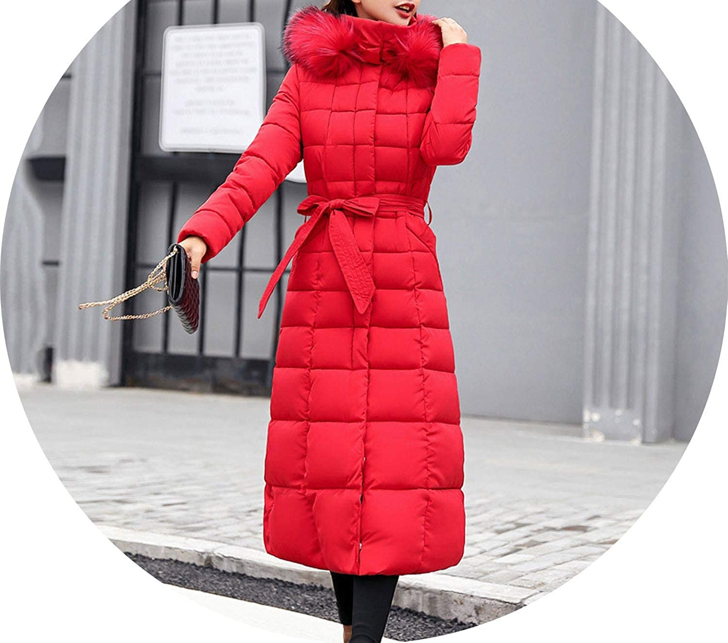 For What Reason 2018 Fashion Slim Women Winter et Cotton Padded Warm Thicken Long Coatsets
