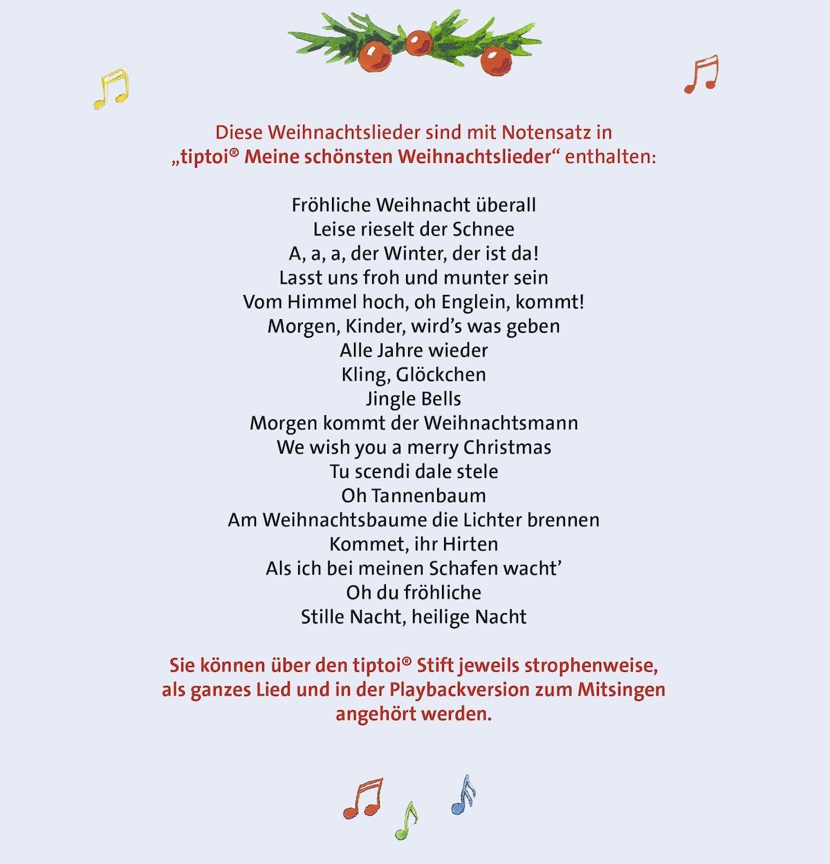 tiptoi® Meine schönsten Weihnachtslieder: Amazon.de: Cornelia ...