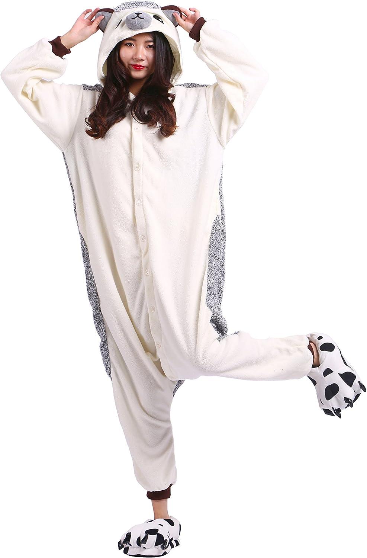 Canard Adulte Unisexe Anime Animal Costume Cosplay Combinaison Pyjama Outfit Jaune