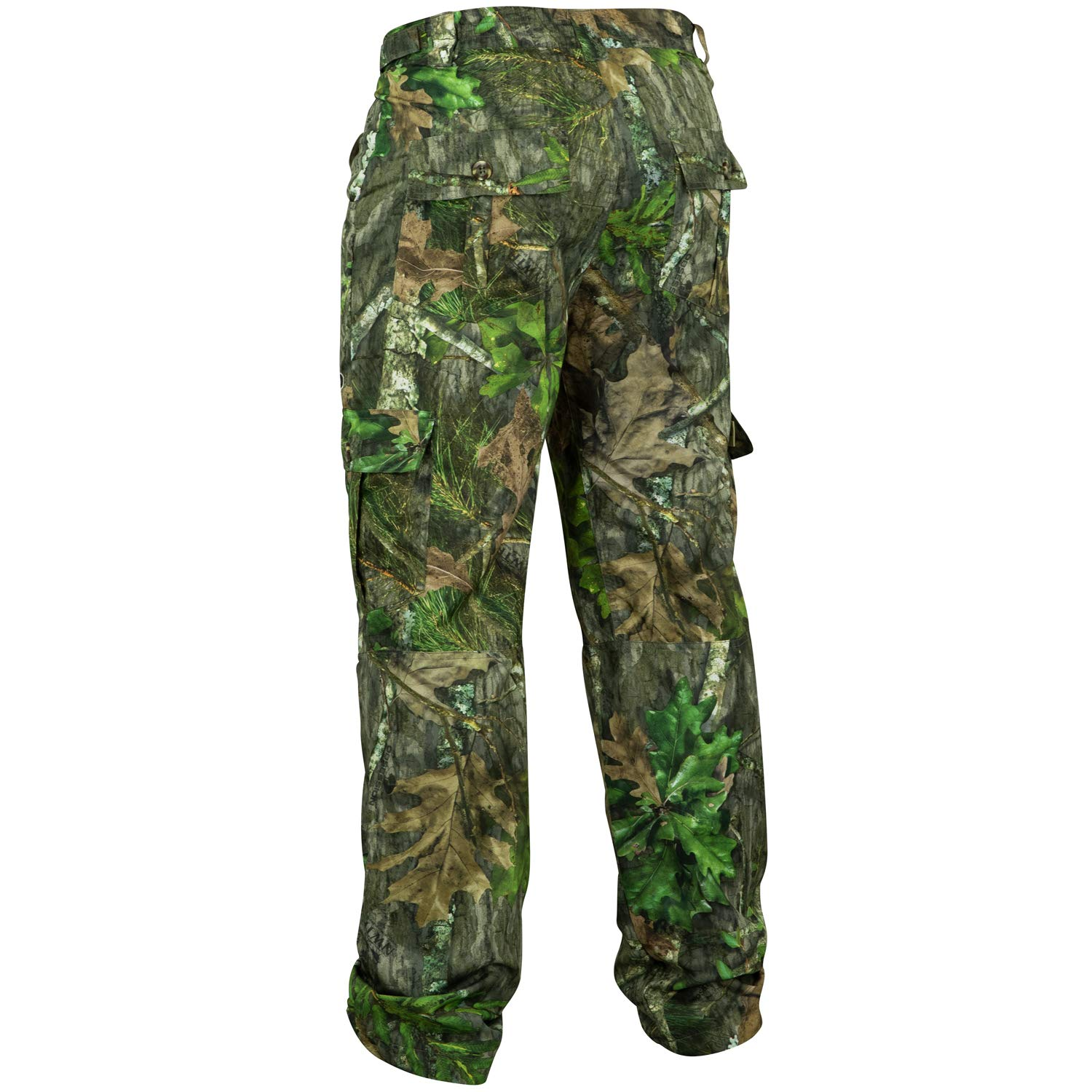 Mossy Oak Men's Tibbee Technical Lightweight Camo Hunting Pants, Obsession, 3X-Large by Mossy Oak (Image #2)