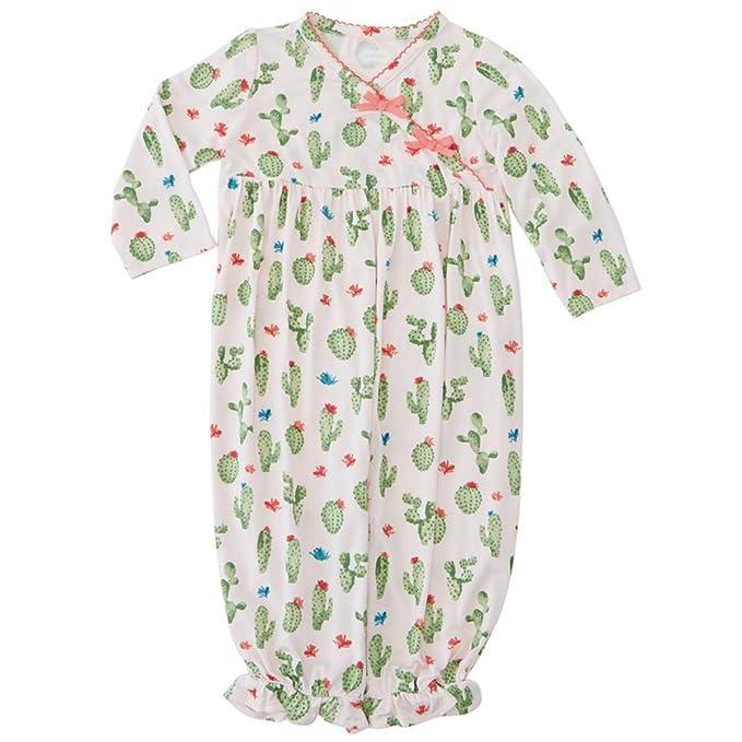 Amazon.com: mud pie bebé niñas Cactus Convertible pijamas ...