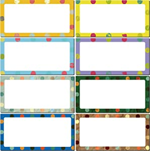 40 Pieces Magnetic Dry Erase Labels Name Plate Tags Flexible Magnetic Label Stickers for Whiteboards Refrigerator Crafts (Color A, 4 x 2 inch)