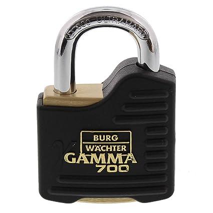 Burg-Wächter Gamma 700 55 SB Candado Diámetro Arco 9 mm,
