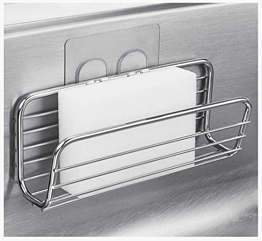 Stainless Steel Kitchen Sink Caddy Sponge Holder for Kitchen Accessories