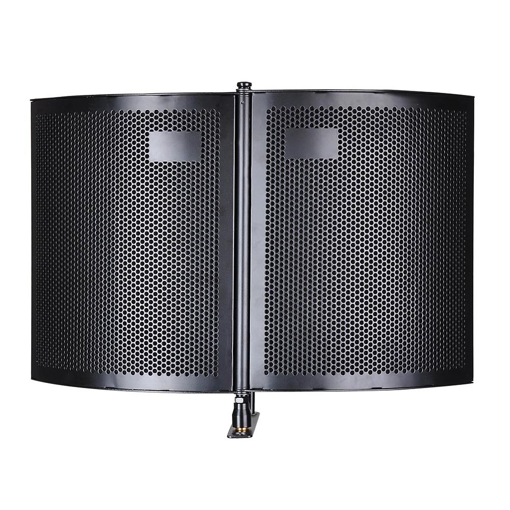 AW Studio Microphone Isolation Shield Acoustic Foam Panel Sound Absorbing Vocal Recording Panel Stand Mount by AW (Image #3)