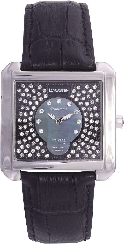 Lancaster 0637LYGCHBL - Reloj de Caballero Cuarzo Piel Azul: Amazon.es: Relojes